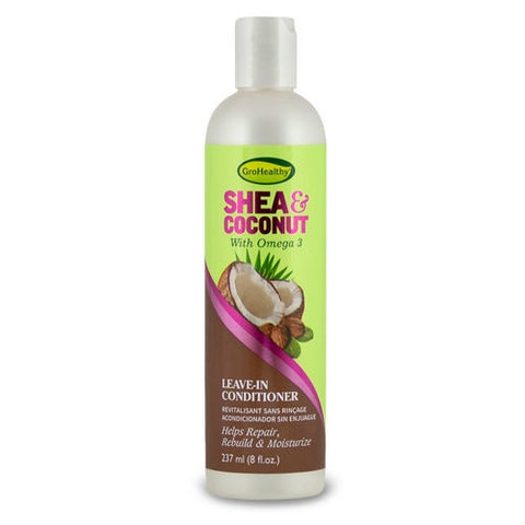 GRO HEALTHY Shea & Coconut Leave In Conditioner 8oz