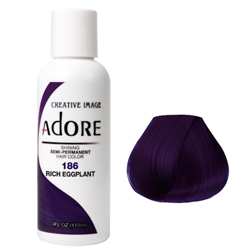 ADORE Color Rich Eggplant 186 4oz