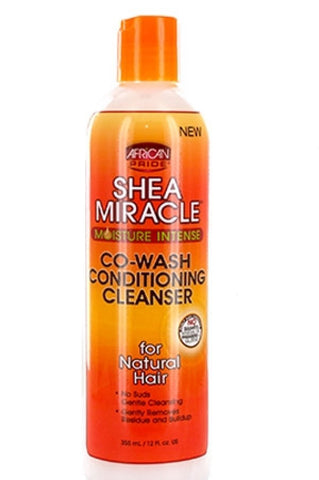 AFRICAN PRIDE Shea Miracle Moisture Intense Co Wash Conditioning Cleanser - HAIRGLO