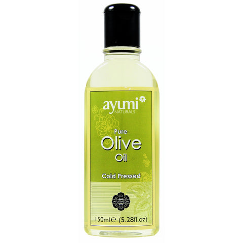 AYUMI NATURALS Pure Olive Oil 150ml - HAIRGLO