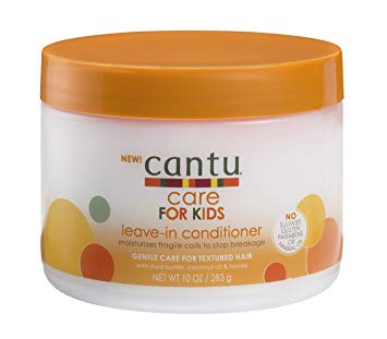 CANTU Care For Kids Nourishing Leave- In Conditioner 10oz - HAIRGLO