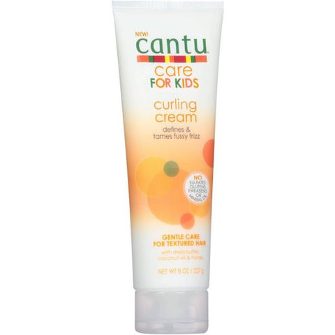 CANTU For Kids Curling Cream Tube 8oz - HAIRGLO