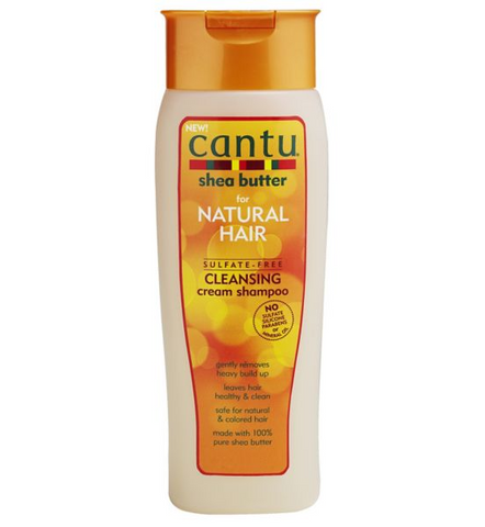 CANTU Sulfate- Free Shea Butter Cleansing Cream Shampoo 400ml - HAIRGLO