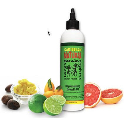 CARIBBEAN NATURAL Replinishing Growth Oil - HAIRGLO