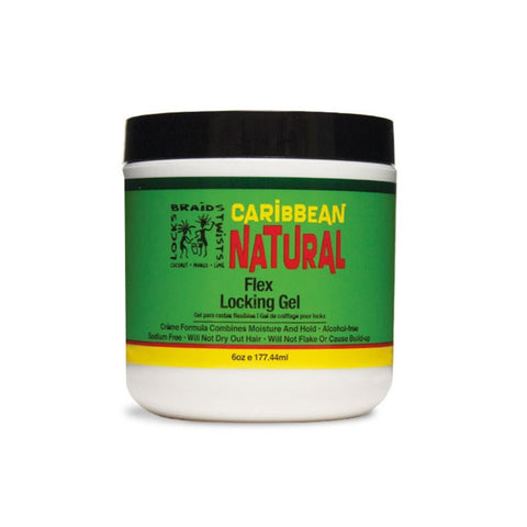 CARIBBEAN NATURAL Flex Locking Gel - HAIRGLO
