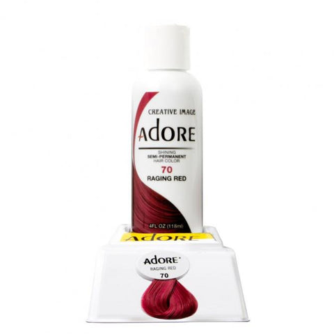 ADORE Color Raging Red 70 4oz - HAIRGLO