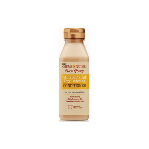 CREME OF NATURE Pure Honey Moisturizing Dry Defense Conditioner 12oz