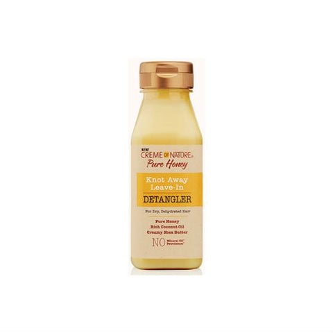 CREME OF NATURE Pure Honey Knot Away Leave-In Detangler 8 oz - HAIRGLO