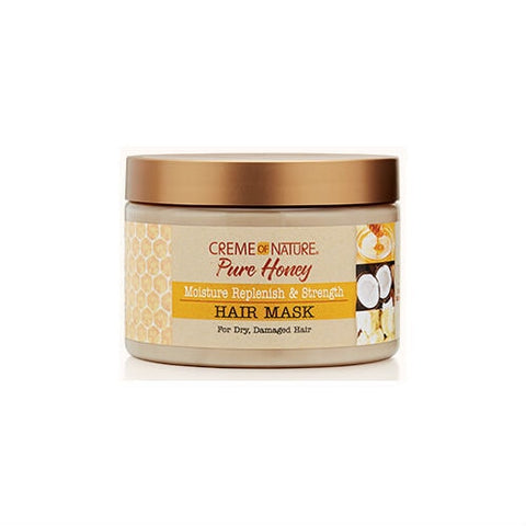 CREME OF NATURE Pure Honey Moisture Replenish & Strengthening Hair Mask 11.5oz