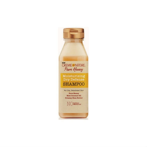CREME OF NATURE Pure Honey Moisturizing Dry Defense Shampoo 12 oz