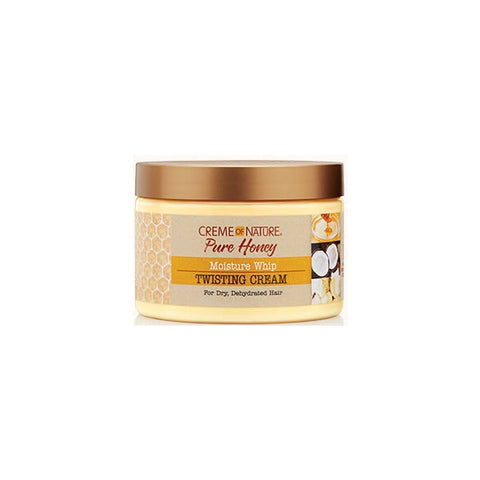 CREME OF NATURE Pure Honey Moisture Whip Twisting Cream 11.5 oz - HAIRGLO