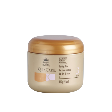 keracare curling wax to straighten hair thermal