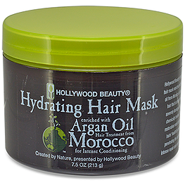 HOLLYWOOD BEAUTY Argan Hair Mask Intensive Conditioning 7.5oz