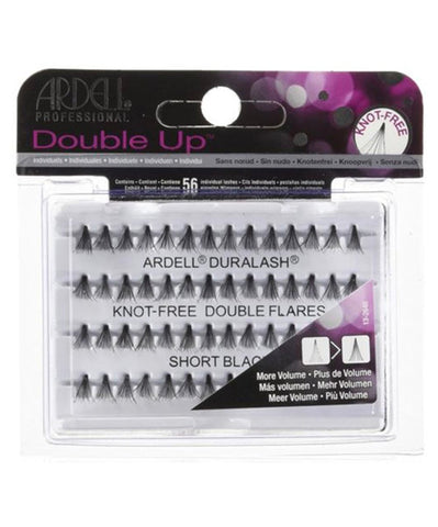 ARDELL Double Up Individual Knot Free  Lash Black - HAIRGLO