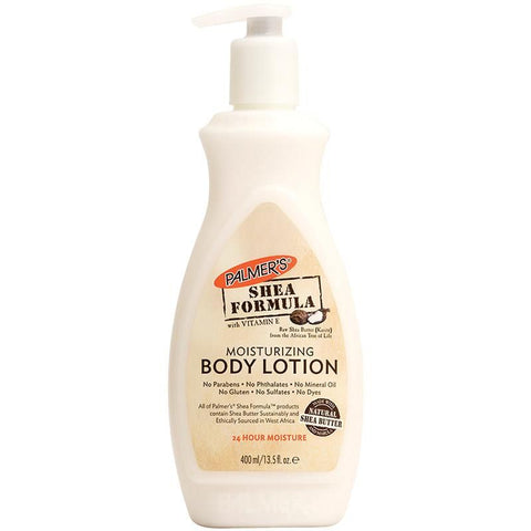 PALMER'S Shea Formula Raw Shea Body Lotion Pump 400ml