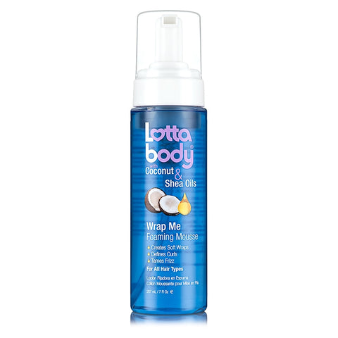 LOTTA BODY Wrap Me Foaming Mousse 7oz