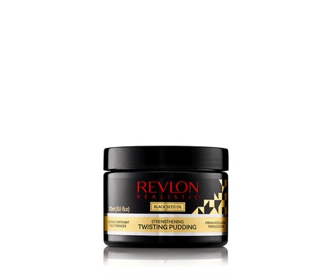 REVLON REALISTIC Black Seed Oil Strengthening Twisting Pudding Flake Free