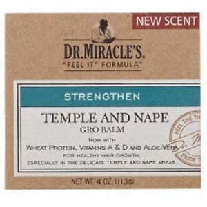 DR MIRACLES Temple & Nape Balm 4oz - HAIRGLO