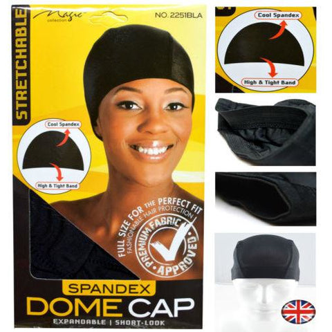 MAGIC COLLECTION Spandex Dome Cap 2251