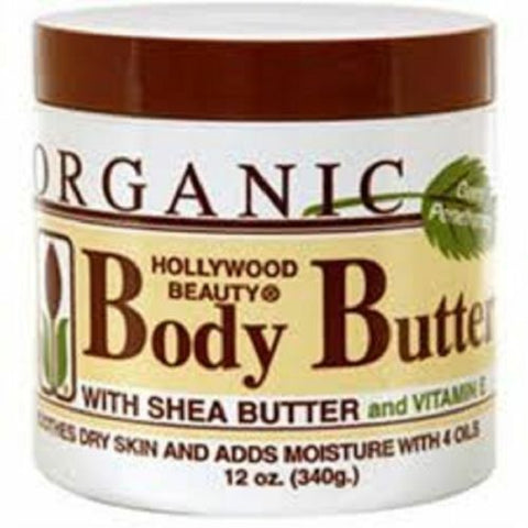 HOLLYWOOD BEAUTY Vanilla Body Butter with Shea Butter 340g