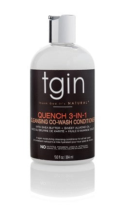 TGIN Quench 3-In-1 Co-Wash Conditioner And Detangler 13oz