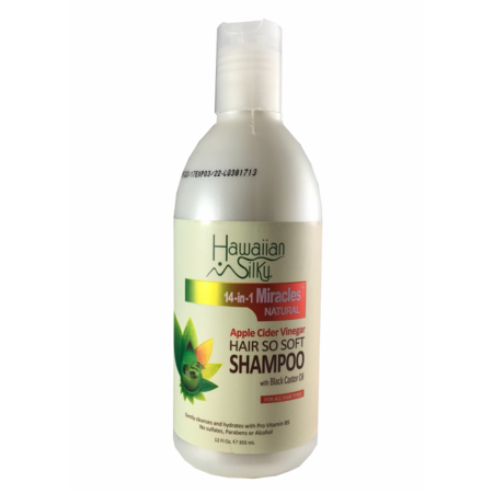 HAWAIIAN SILKY Apple Cider Vinegar Hair So Soft Shampoo 12oz
