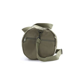 Peace Sign Heart Dog Paw Print Army Sport Heavyweight Canvas Duffel Bag