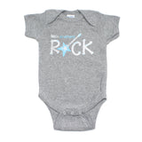 Little Brothers Rock Star Guitar Short Sleeve Baby Infant Bodysuit