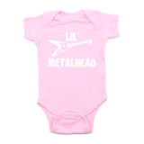 Lil' Metalhead Electric Guitar Short Sleeve Baby Infant Bodysuit