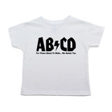 ABCD Unisex Kids Rock N Roll-Band Toddler Short Sleeve T-Shirt