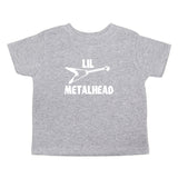 Lil Metalhead Unisex Toddler Short Sleeve T-Shirt