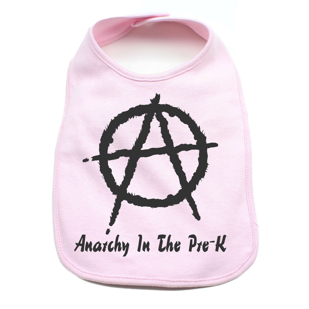 Anarchy in the Pre- K Unisex Newborn Baby Soft Cotton Bib