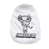 Snuggle Monster Unisex Newborn Baby Soft Cotton Bib