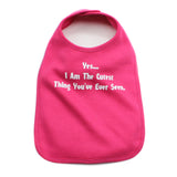 Yes, I am the Cutest Unisex Baby Soft Cotton Bib