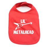 Lil Metalhead Unisex Newborn Baby Soft Cotton Bib