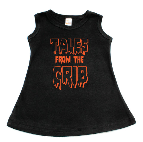 Halloween Tales From The Crib A-Line Dress For Baby Girls