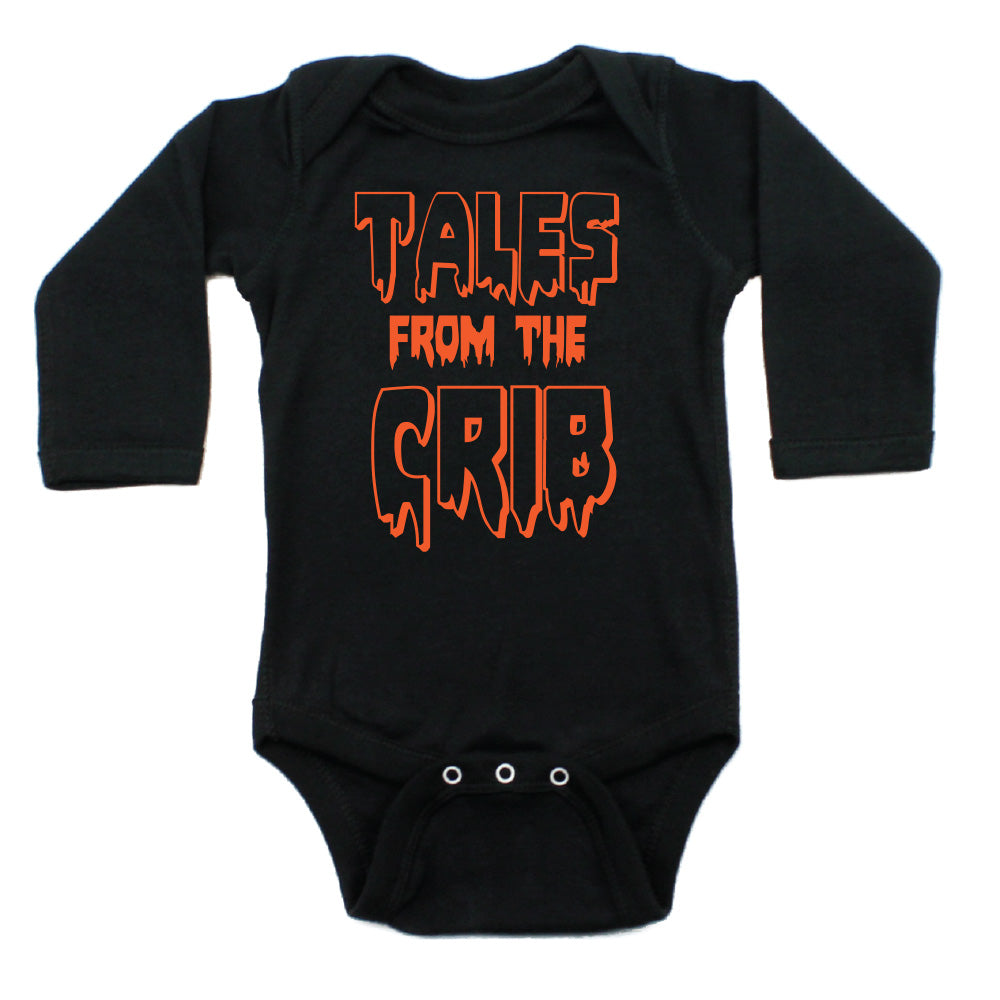 Halloween Tales From The Crib Long Sleeve Bodysuit