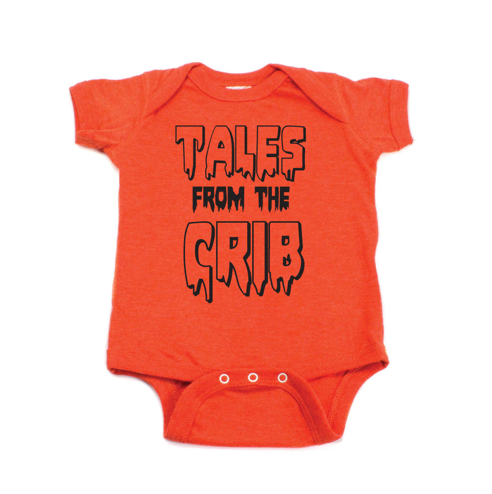 Halloween Tales From The Crib Short Sleeve Bodysuit