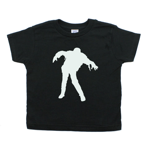 Halloween Glow in The Dark Zombie Toddler T-Shirt