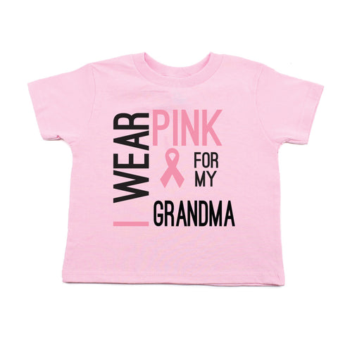 Breast Cancer Awareness Wear Pink My Grandma Toddler T-Shirt