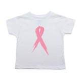 Breast Cancer Awareness Painted Pink Ribbon Toddler T-Shirt