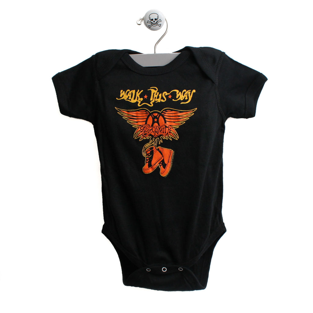 Aerosmith Walk this Way Baby Bodysuit