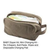 Kiss Mark Lips Mini Baby Changing Bag Travel Diapering Essentials Kit