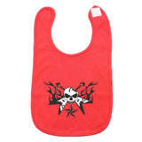 Guitar Hero with Star Unisex Newborn Baby Soft Cotton Bib