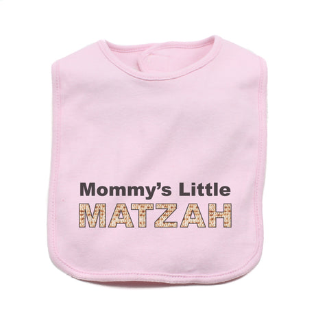 Passover Mommy's Little Matzah Soft Cotton Infant Bib