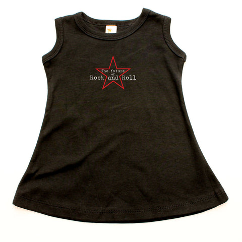 Future of Rock & Roll A-line Dress For Toddler Girls