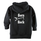 Born to Rock Front Zipper Toddler Hoodie