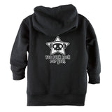 Too Punk Rock for You Front Zipper Toddler Hoodie