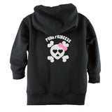 Punk Princess Front Zipper Toddler Hoodie