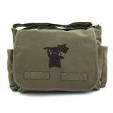 Pokemon Pikachu Heavyweight Canvas Messenger/Diaper Shoulder Bag